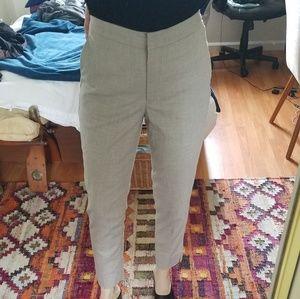 H&M Cream Trousers